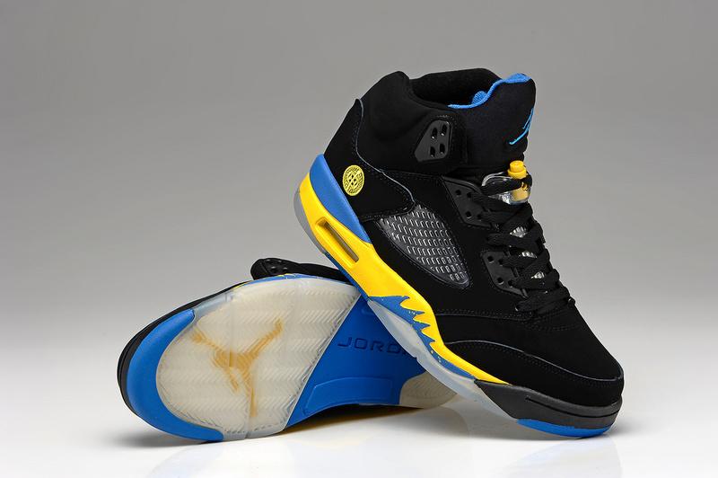 finest selection c42e0 0ada3 Air Jordan 5 Homme Femme Jordan Abordable Chaussure Air Jordan 5 Retro Pas  Cher Gris Noir Pour Homme